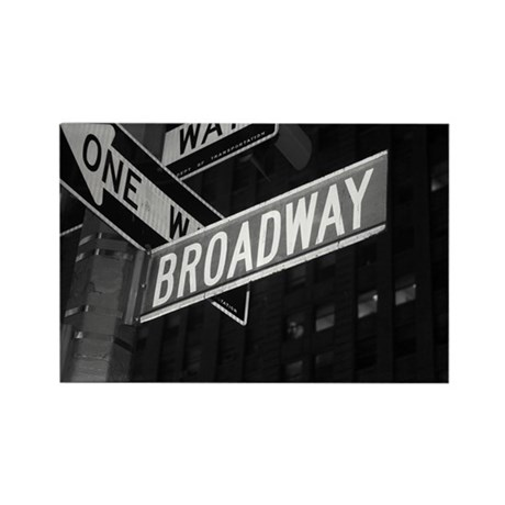 Broadway Rectangle Magnet (100 pack)
