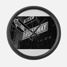 Broadway Large Wall Clock