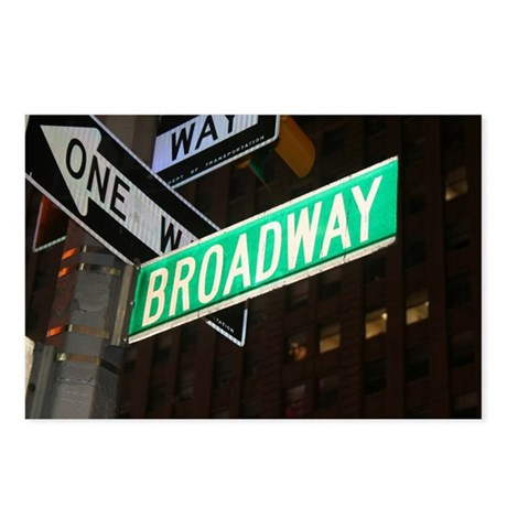 Broadway Postcards (Package of 8)