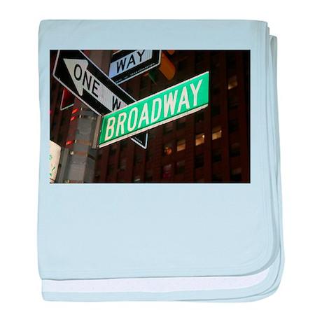 Broadway baby blanket