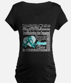 Hope Tribute Ovarian Cancer T-Shirt