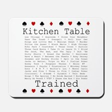 Kitchen Table Poker Mousepad