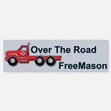 Masonic Truck Driver Bumper Bumper Bumper Sticker