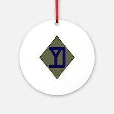 Yankee Ornament (Round)
