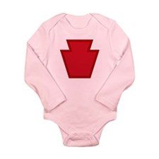 Keystone Long Sleeve Infant Bodysuit