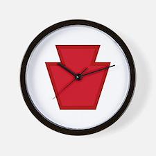 Keystone Wall Clock