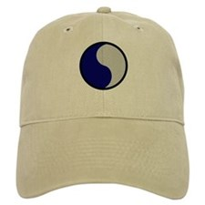 Blue and Gray Baseball Cap