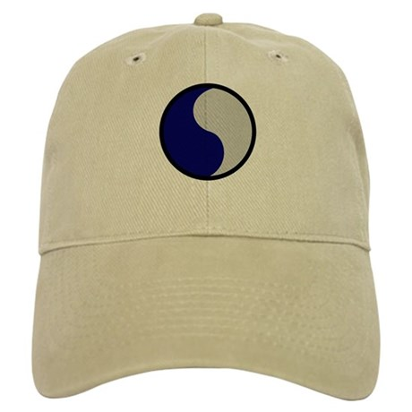 Blue and Gray Cap