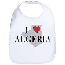 I Love Algeria Bib