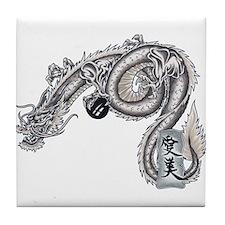 Amy Dragon Tile Coaster