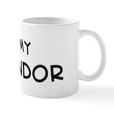 I Love Komondor Mug