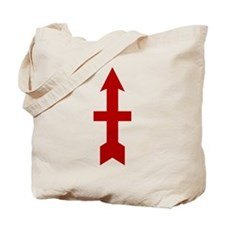 Red Arrow Tote Bag