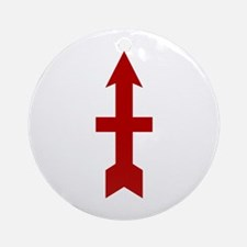 Red Arrow Ornament (Round)