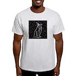 Party Penguin Ash Grey T-Shirt