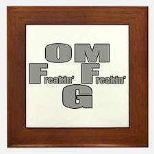 OMFreakinFreakinG Framed Tile