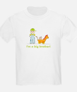 I'm a Big Brother Kid's T-shirt: Baby Sister