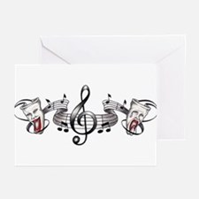 Theater and Music Greeting Cards (Pk of 10)