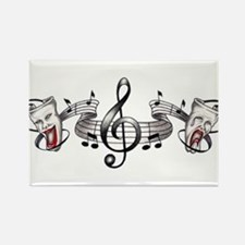 Theater and Music Rectangle Magnet (10 pack)