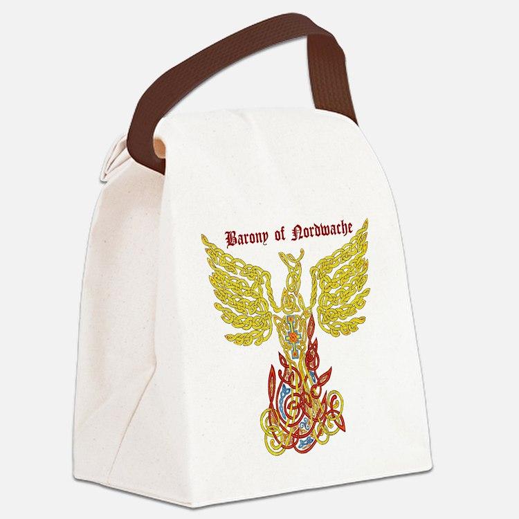 Cute Barony Canvas Lunch Bag