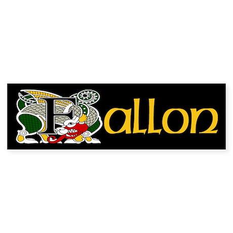Fallon Celtic Dragon Bumper Sticker