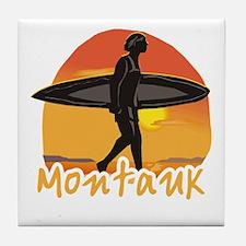 Montauk Surf Tile Coaster