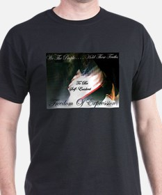We The People Black T-Shirt