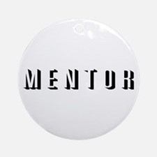 Mentor Ornament (Round)