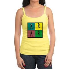 Color Peace Woman Gear Jr.Spaghetti Strap