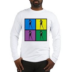Color Peace Woman Gear Long Sleeve T-Shirt