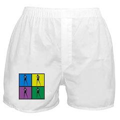 Color Peace Woman Gear Boxer Shorts
