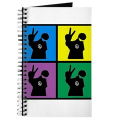 Color Peace Man Gear Journal
