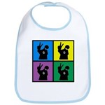 Color Peace Man Gear Bib
