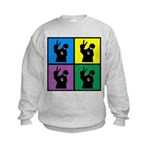 Color Peace Man Gear Kids Sweatshirt