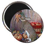 "Lil Brown Rabbit 2.25"" Magnet (10 pack)"