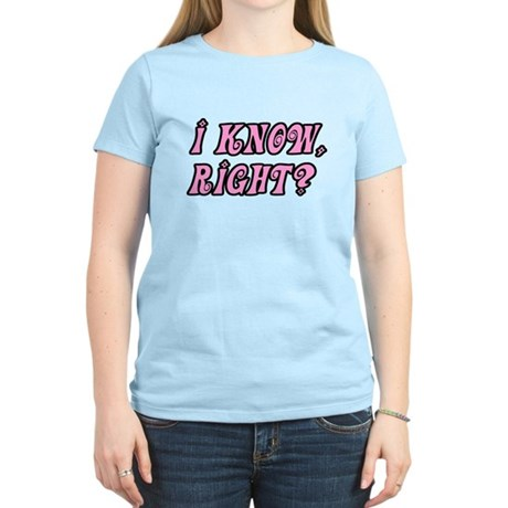 I Know Right Women's Light T-Shirt