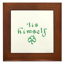'tis himself Framed Tile