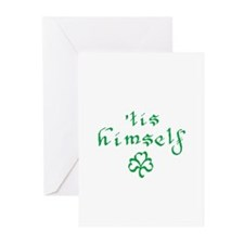 'tis himself Greeting Cards (Pk of 10)