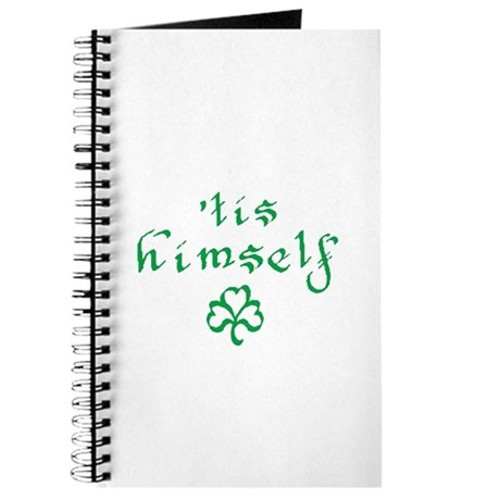'tis himself Journal