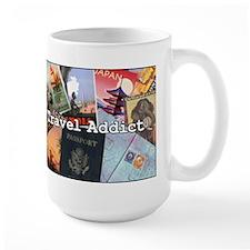 """Travel Addict"" Mug"