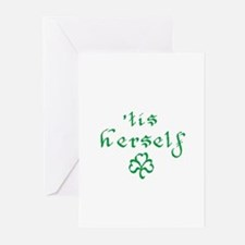 'tis herself Greeting Cards (Pk of 10)