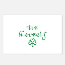 'tis herself Postcards (Package of 8)