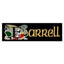Farrell Celtic Dragon Bumper Bumper Sticker