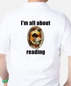I'm All About Reading! T-Shirt