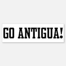 Go Antigua! Bumper Bumper Bumper Sticker