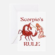 Scorpio's Rule Greeting Cards (Pk of 10)