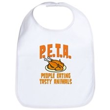 PETA People Eating Tasty Animals Bib