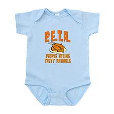 PETA People Eating Tasty Animals Infant Bodysuit