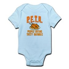 PETA People Eating Tasty Animals Onesie