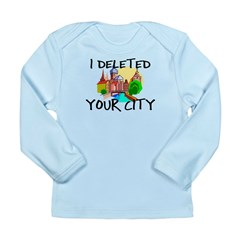 Deleted City Long Sleeve Infant T-Shirt