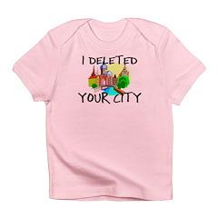 Deleted City Infant T-Shirt